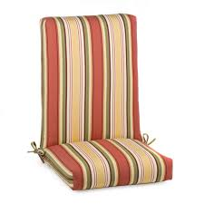luxurious high back outdoor chair cushions design ideas and decor