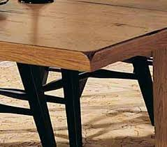 attic heirlooms dining table attic heirlooms rectangular leg dining table in oak by broyhill