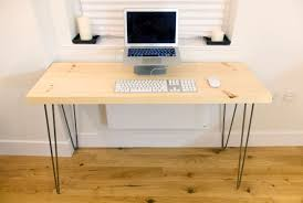 Desk Used Wood Desks For Sale Build A Wood Plank Desktop For by I Built A Goddamn Writing Desk With My Bare Hands And You Can Too