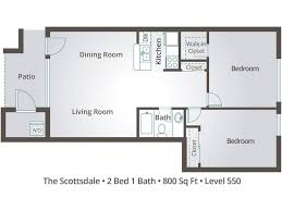 2 bedroom apartment floor plans u0026 pricing level 550 mesa az