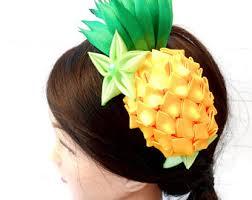 fruit headband yellow headpiece etsy