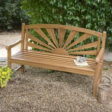 idee de jardin moderne banc de jardin pas cher