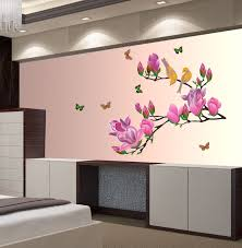 new way decals wall sticker floral botanical wallpaper price in wall sticker floral botanical wallpaper on offer