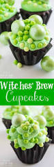Easy Halloween Cakes For Kids by Witches U0027 Brew Cupcakes Recipe Easy Halloween Desserts Witches