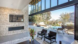 Hollywood Home Decor Home Of The Day Modern Entertainer U0027s Space In Hollywood Hills