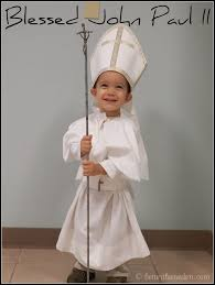 soon to be paul ii costume idea all saints day all