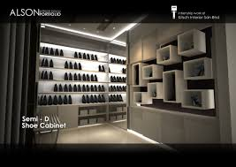 internship work semi d shoe cabinet design by tan seng wai at