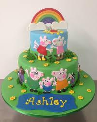 peppa pig cakes order special rainbow peppa pig cake online birthday cake in