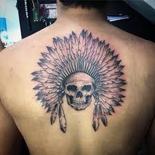 skull tattoo ideas chhory tattoo