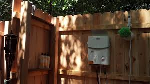 Outdoor Shower And Toilet Outdoor Shower Island Time