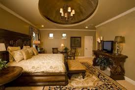 Tuscan Interior Design Tuscan Bedroom With Wooden Furniture And Dome Ceiling Wonderful