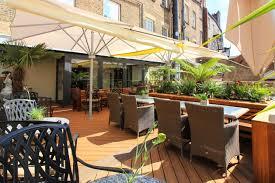 outdoor terrace at barluga grey street barluga