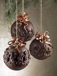 chocolate ornaments rainforest islands ferry