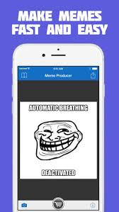 Free Meme Maker - meme producer free meme maker generator on the app store