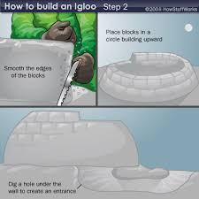 how to build an igloo howstuffworks