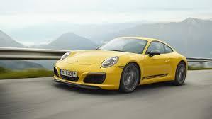 yellow porsche side view less is more u2013 the new porsche 911 carrera t