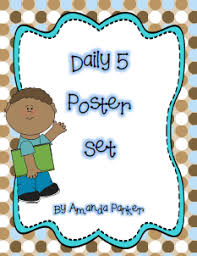 the daily five printables free printable daily five posters