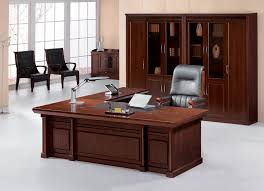 Best Office Table Design Office Tables Design Cream Brown Colors Wooden Office Desk