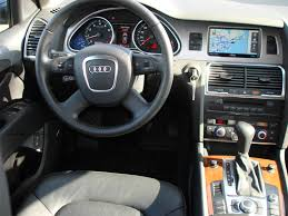 audi q7 interior parts 2007 audi q7 review and test drive by car reviews and