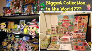biggest animal crossing collection in the world youtube