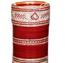 indian wedding chura maroon indian bridal chura baazkart