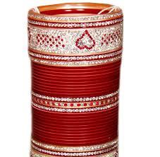 indian wedding chura maroon indian bridal chura baazkart