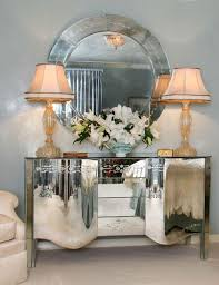 sideboards astounding mirrored buffet cabinet borghese mirrored