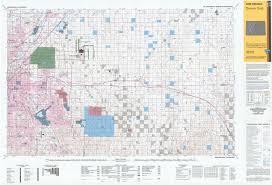 Colorado Game Unit Map by Public Room Bureau Of Land Management