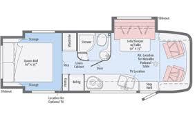 class b rv floor plans class b 25 26ft rv rental details california
