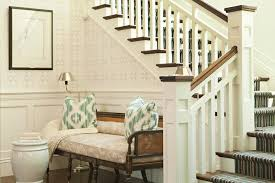 Benches For Entryways Foyer Wainscoting Design Ideas