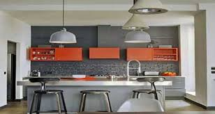 des idees pour la cuisine quelle couleur mettre avec une cuisine grise
