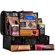 Wine And Chocolate Gift Basket Godiva Chocolate Chest Wine Optional Gourmet Gift Baskets For