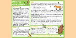 the gruffalo lesson plan ideas ks1 pinterest the