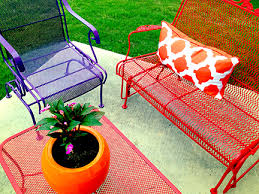 Paint For Metal Patio Furniture Patio Perfection Austin Interior Design By Room Fu Knockout
