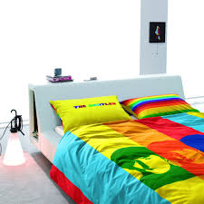 The Beatles Bed Set Beatles Bedding White Bed