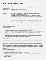 resume chronological order career change resume sample resume for study
