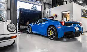Ferrari 458 Colors - azzurro dino ferrari 458 speciale gets xpel ceramic pro