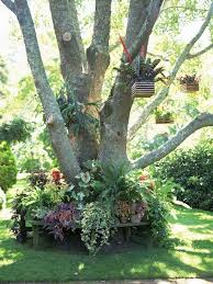 18 impressive ideas to decorate around trees