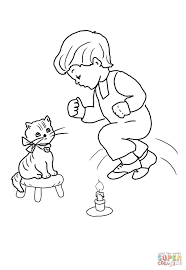 jack be nimble jack be quick coloring page free printable