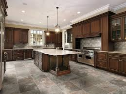 kitchen fascinating kitchen flooring ideas with white furnitures