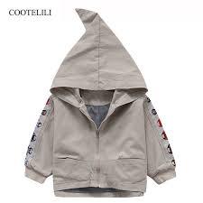 cute jacket pattern cootelili 80 130cm cute pattern kids boys girl jacket windbreaker