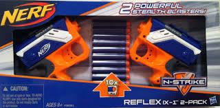 nerf n strike reflex ix 1 2 pack a5051 need nerf guns for sure