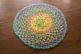 How To Make A Large Rug Make A Braided T Shirt Rug 5 Steps With Pictures