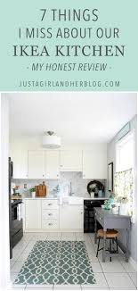 fitting ikea kitchen cabinets 7 things i miss about our ikea kitchen abby lawson