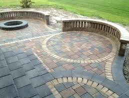 Patio Paver Installation Cost Cost Of Patio Pavers Paver Patio Cost Per Square Foot Installed