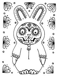 skull coloring pages printable day of the dead dia de los muertos