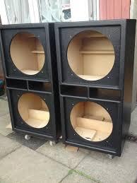 building a subwoofer box for home theater 18 inch bass woofer subwoofer speaker cabinet box hi fidelity dj