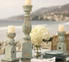Pottery Barn Pillar Candles Diy Distressed Pillar Candle Holders