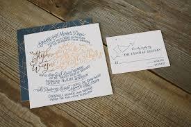 navy wedding invitations copper navy letterpress constellation wedding invitations