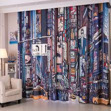 boys bedroom curtains colorful patterned cool curtains for boys bedroom